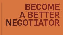 Become a better negotiator