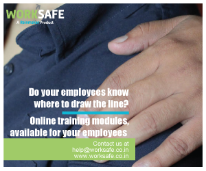 WORKSAFE, A Rainmaker PRODUCT | Do your employees know where to draw the line? Online training modules, available for your employees | Contact us at help@worksafe.co.in, www.worksafe.co.in