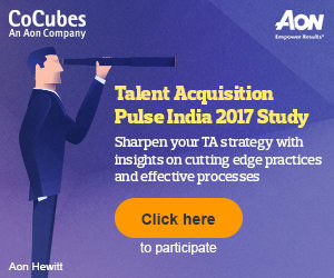 CoCubes, An Aon Company | Aon Hewitt | Talent Acquisition Pulse India 2017 Study | [ Click Here to participate ]