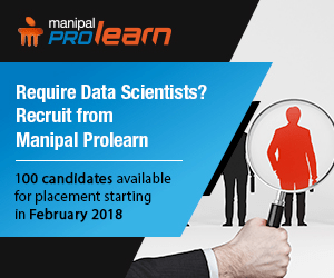 Require Data Scientists? Recruit from Manipal Prolearn