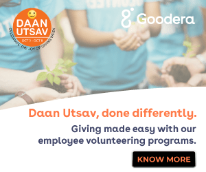 Daan Utsav Done Differently