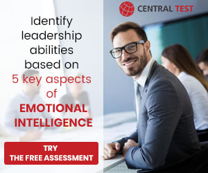 Identify leadership abilities based on  5 keys aspects of Emotional Intelligence | [ Try the Free Assessment ] | CENTRAL TEST