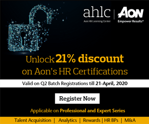 Unlock 21% discount on AON's HR Certifications