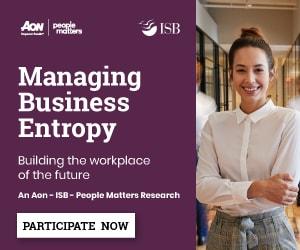 Managing Business Entropy | Participate now