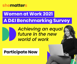 She Matters: Women at Work | D&I Benchmarking Survey