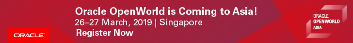 Oracle Open World is coming to Aisa!