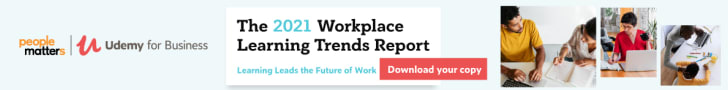 2021 Workplace Learning Trends Report