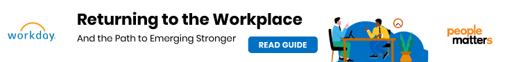 Returning to the workplace and the path to emerging stronger