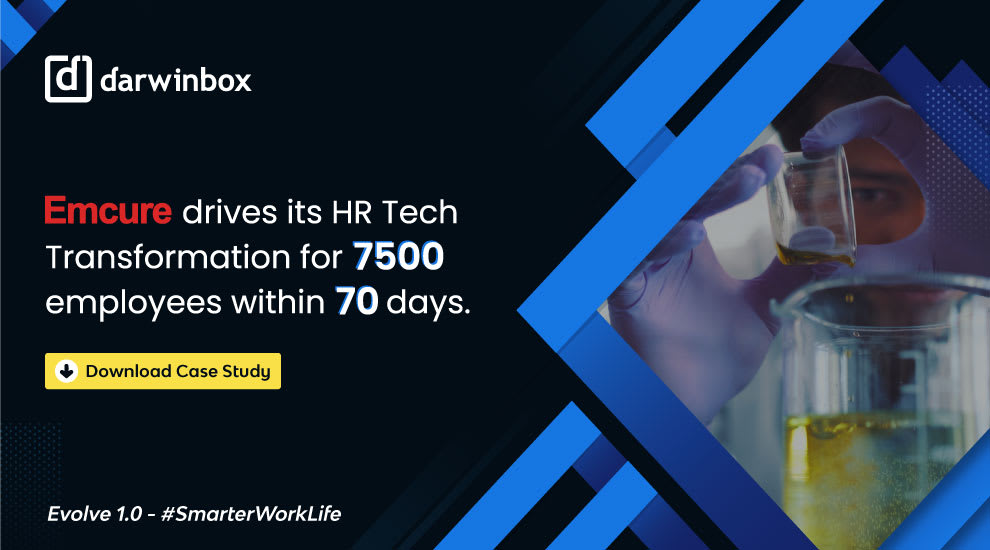 Darwinnbox | Emcure drives its HR Tech Transformation for 7500 employees within 70 days