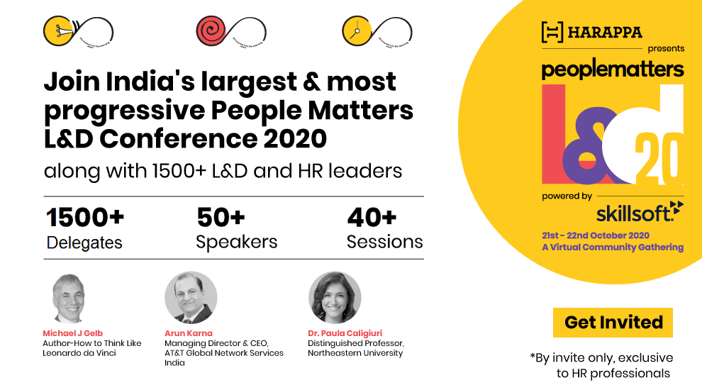 Join us at India's largest & most progressive People Matters L&D Conference along with 1500+ L&D & HR Leaders