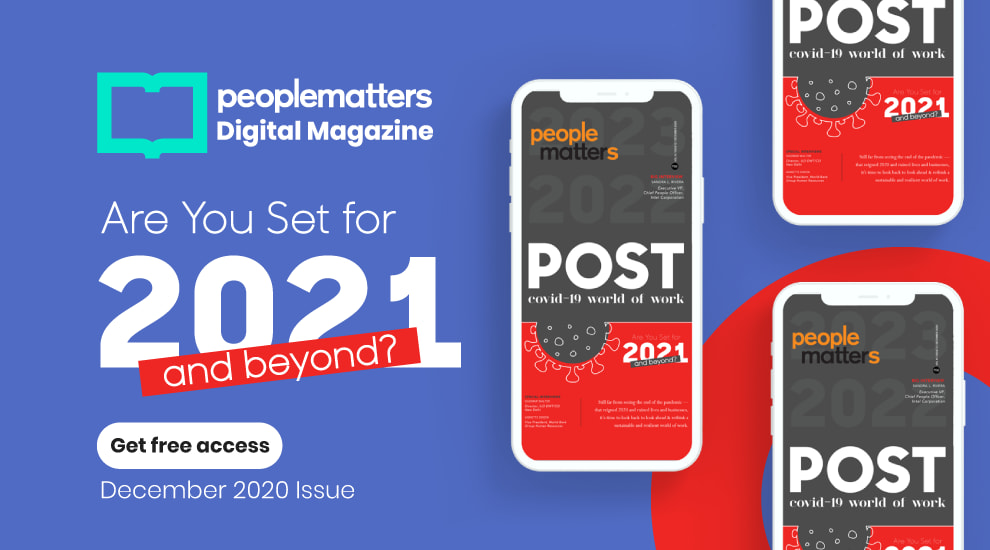 Are you set for 2021 and beyond ?