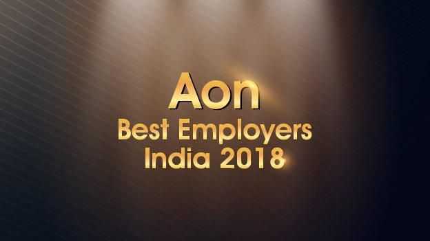 Who made it to the Aon's Best Employers 2018 India list?