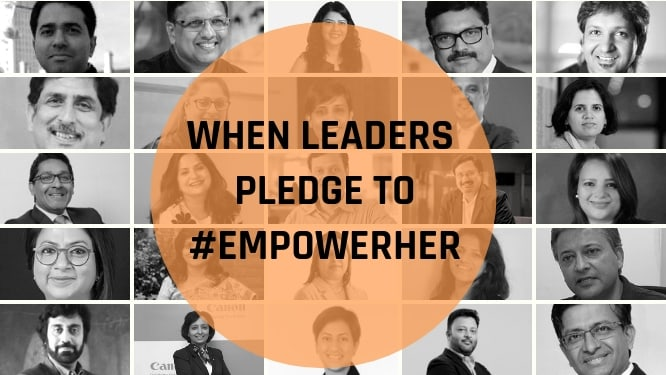 When leaders pledge to #EmpowerHer