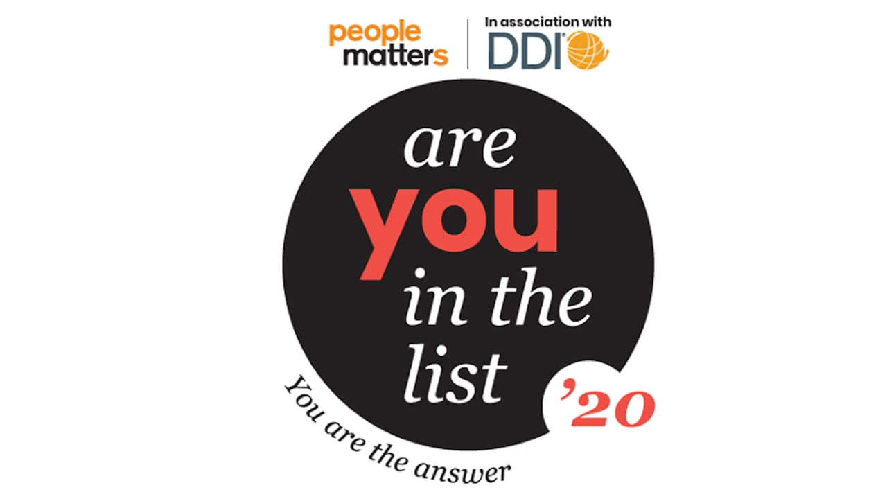 Here's why you should be in the list of People Matters Are You In The List Awards 2020?