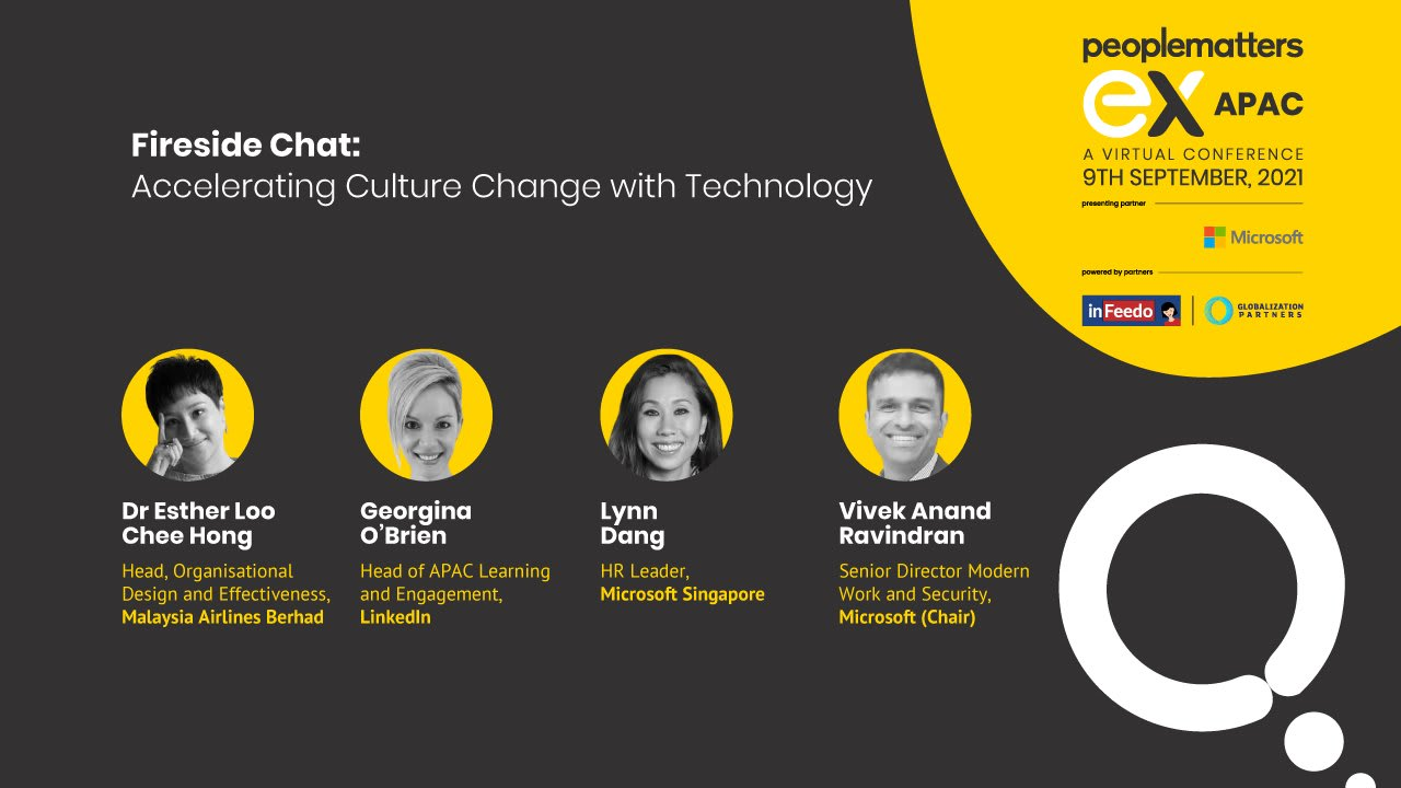 Accelerating culture change with technology