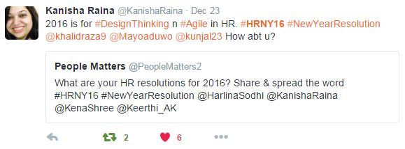 Kanisha Raina's new year resolution 2016