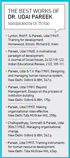 The best works of Dr. Udai Pareek