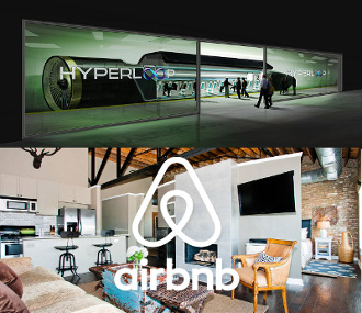 Airbnb & Hyperloop