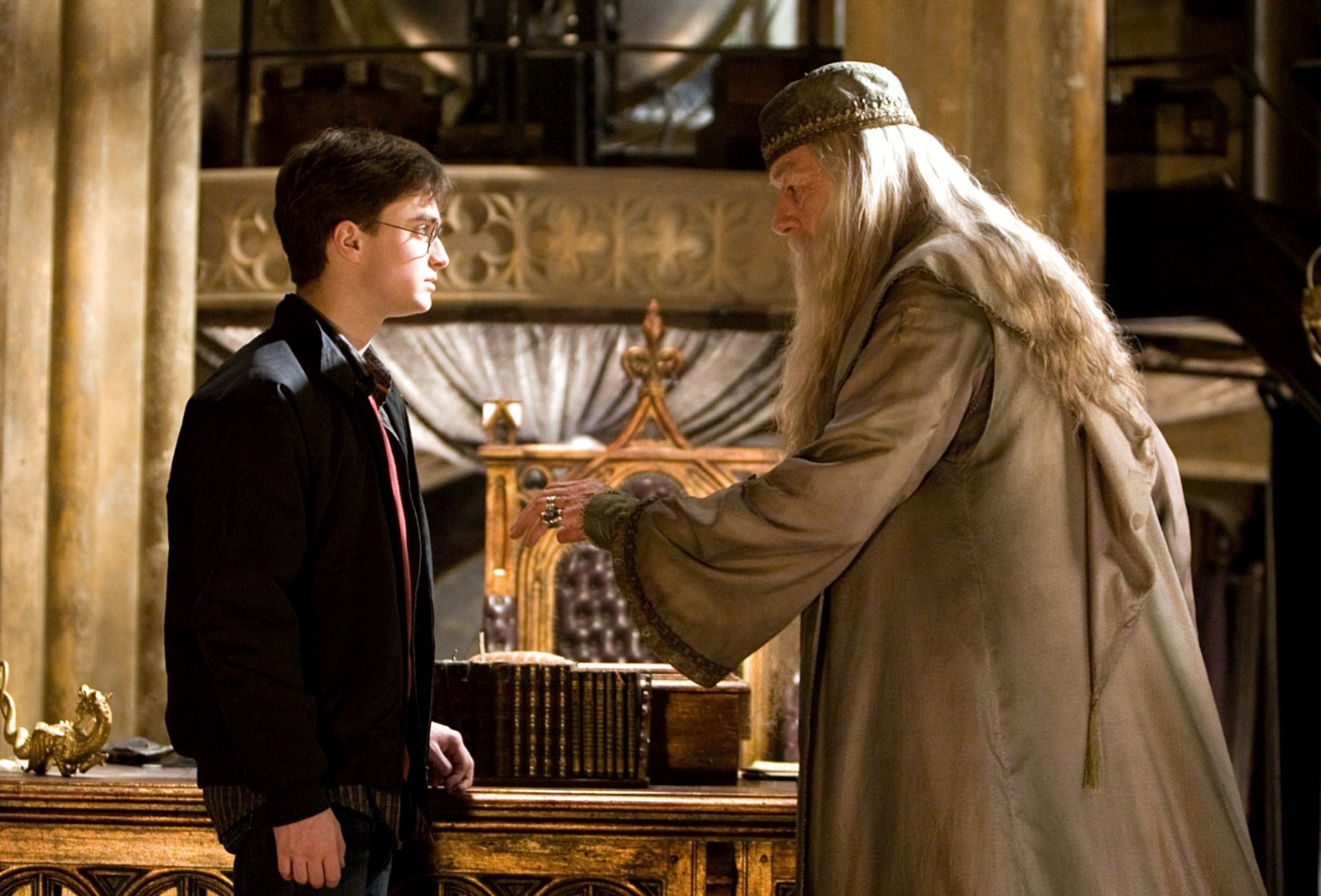 Harry and Dumbledore relationship