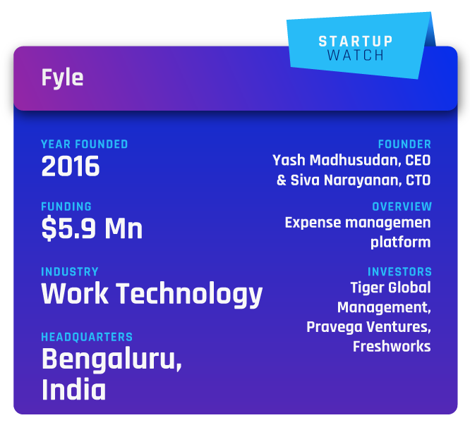 Article: Fyle's CEO on expense management technology & its