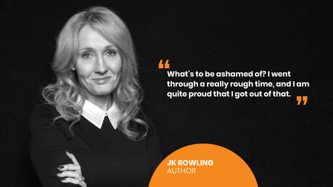 JK Rowling on World Mental Health Day