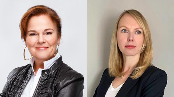 Sabine Riedel, Management Board, OTRS & Kathrin Triebel, HR Director, OTRS