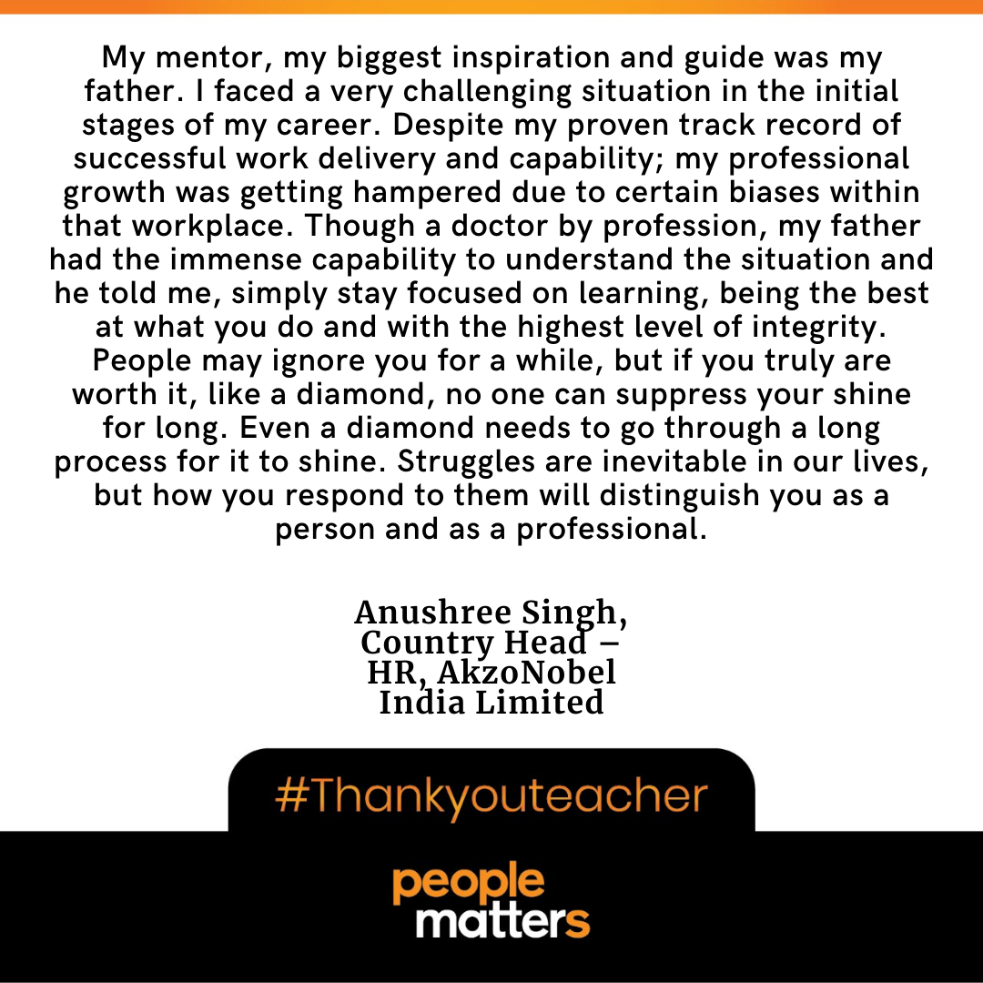 Anushree Singh, Country Head – HR, AkzoNobel India Limited