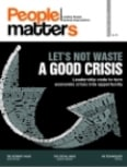Let\'s Not Waste a Good Crisis