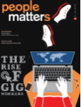 THE RISE OF GIG WORKERS