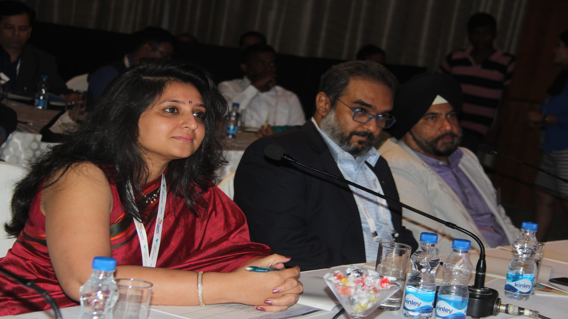 Jury during L&D Awards Elevator's pitch