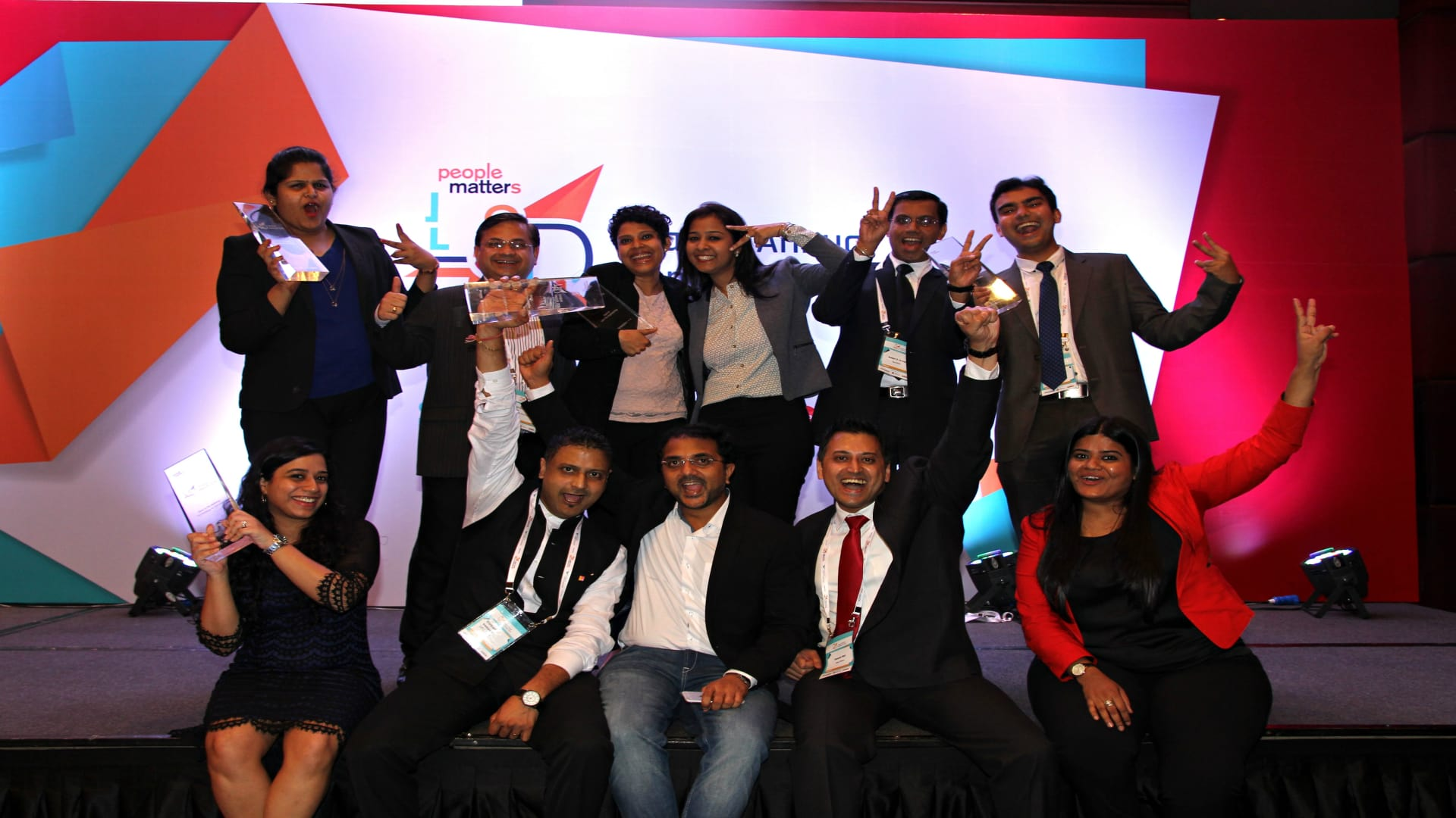 Winners of L&D League Annual Awards 2016