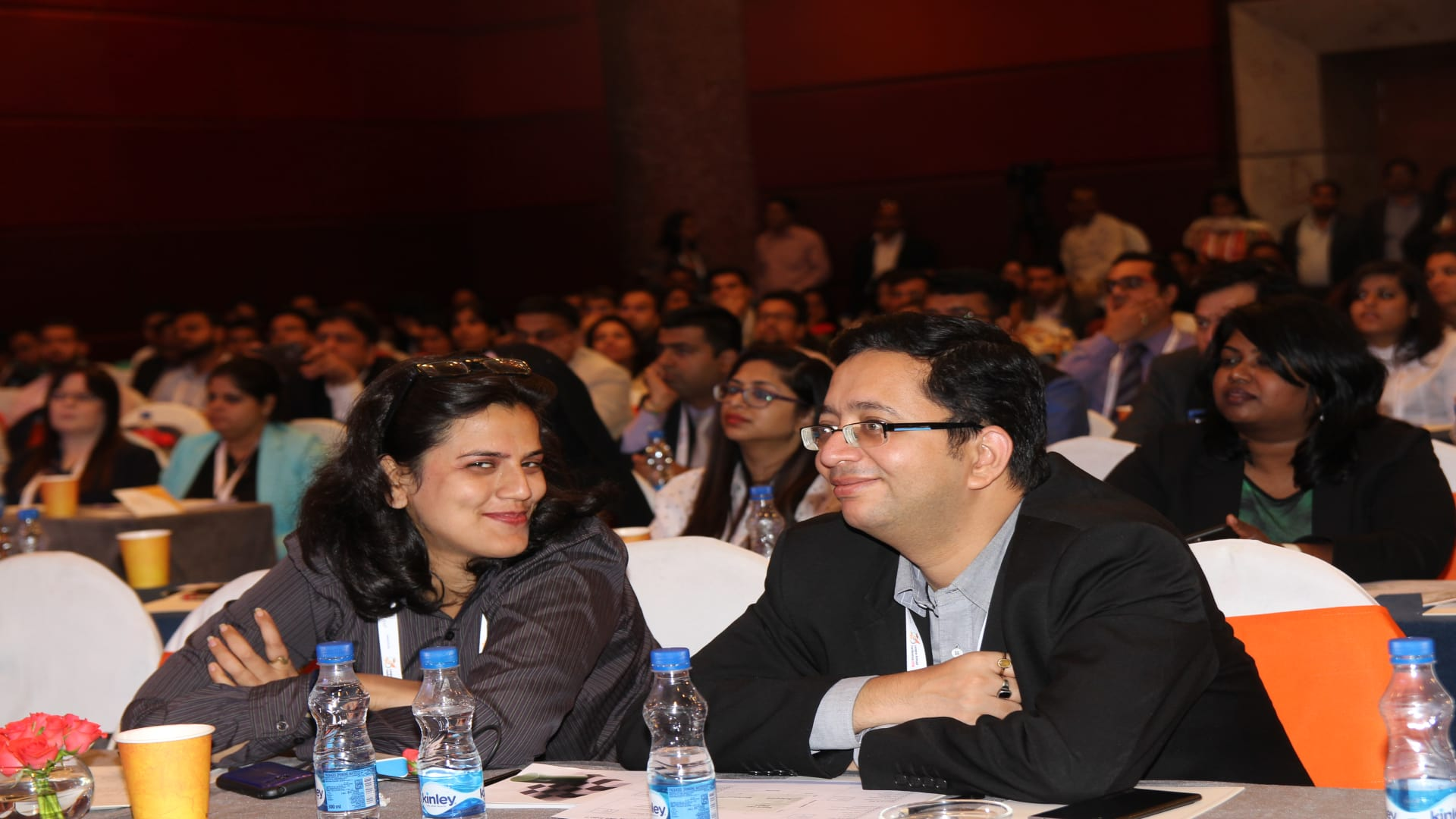 HR Professionals from L&D space enjoyed every moment of enriching and insightful sessions