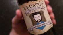 How a beer bottle got him the dream job
