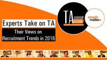 Trends in recruitment in 2016