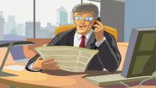 Obsessive bosses & their personal space at work