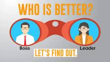 Boss Vs Leader: Who is better