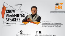 Know the TechHR14 Speaker: Pankaj Bansal