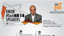 Know the TechHR14 Speaker: Sameer Patel