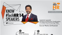 Know the TechHR14 Speaker: Yashwant Mahadik