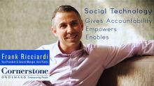 Empowering through social technology - Frank Ricciardi