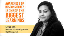 Divya Jain- Biggest learning is to recognise responsibilities
