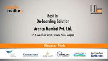 Best in On-Boarding Solution - Aranca Mumbai Pvt. Ltd.