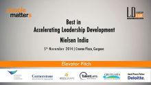 Nielsen India accelerating their Leadership Program