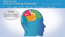 Critical Thinking University! Learn the basics