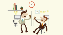 Catch 22: When a friend is also a co-worker