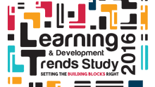 Learning & Development Trends Study 2016 – Setting the building blocks