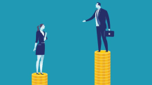 Pay gap is the biggest workplace issue for women: Survey