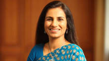 Chanda Kochhar received a 63% raise in her salary for fiscal 2016-17