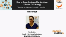 How to boost employee morale with effective EVP strategy