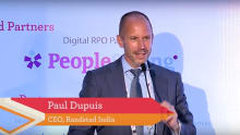 Redefining recruitment: A talk by Paul Dupuis, CEO Randstad India